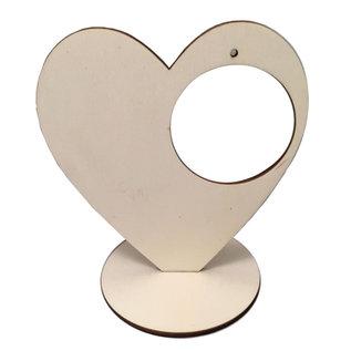 Joy!Crafts Hart staand met bol 5 cm