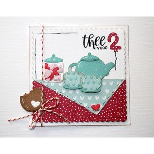 Joy!Crafts Snijstencils - Jocelijne - Thee-party