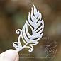 Joy!Crafts Snij-emboss-debosstencil - Magische veren