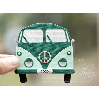 Joy!Crafts Snijstencil -  Jocelijne - Hippie-bus