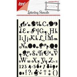 Polybesa Scrap Maskstencil - Lettering stencil