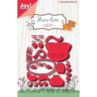 Joy!Crafts Snij-embosstencil - Mon Ami - Poes Lizzy