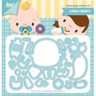 Joy!Crafts Snijstencils - Jocelijne -  Lachende Baby's