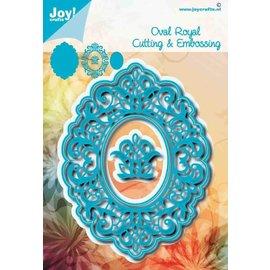 Joy!Crafts Snij-embosstencil - Noor - Ovaal Royal