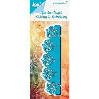 Joy!Crafts Snij-embosstencil - Noor - Border Royal