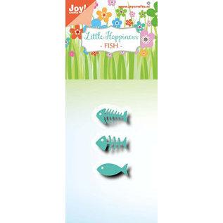 Joy!Crafts Snijstencil - LH - Vis/graat