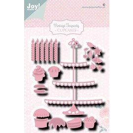 Joy!Crafts Snij-embosstencil - Noor-Teaparty Etagere