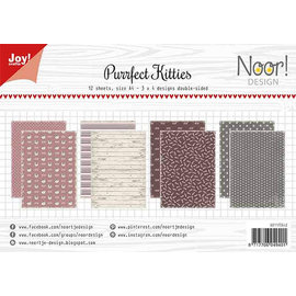Joy!Crafts Papierset - Noor - Purrfect Kitties