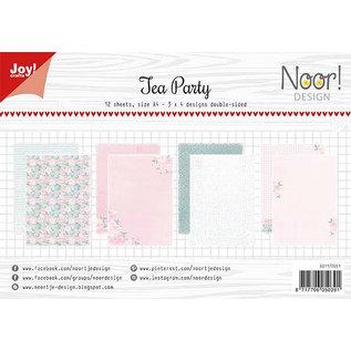 Joy!Crafts Papierset - Noor - Design Tea Party