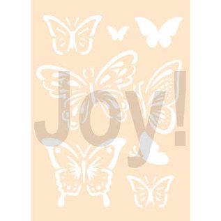 Joy!Crafts Polybesastencil A6 - Vlinders
