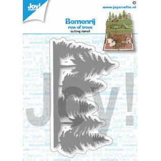 Joy!Crafts Snijstencil- Rij bomen