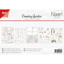 Joy!Crafts Labelvellen/knipvel - Noor - Country Garden