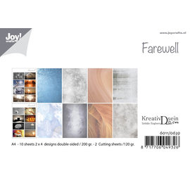 Joy!Crafts Papierset -  Design Farewell