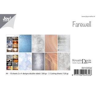 Joy!Crafts Papierset -  Design Farewell