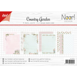 Joy!Crafts Papierset-Noor- Design Country Garden