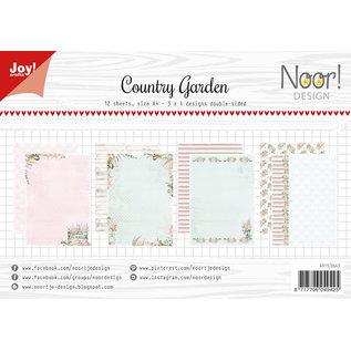 Joy!Crafts Papierset-Noor- Design Country Garden