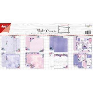 Joy!Crafts Papierset-Noor- Design Violet Dreams