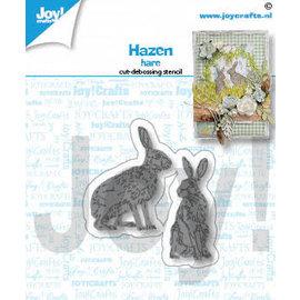 Joy!Crafts Snij-debosstencils - Hazen