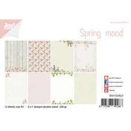 Joy!Crafts Papierset - Design - Spring mood