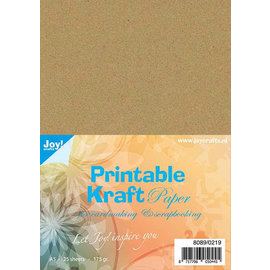 Joy!Crafts Printbaar kraftpapier A5