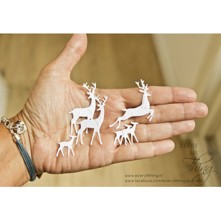 Joy!Crafts Snij-embosstencils - Noor - Herten