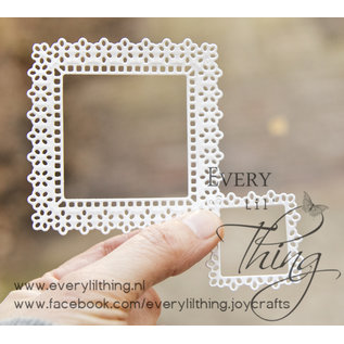 Joy!Crafts Snij-embosstencil - Vierkante mal