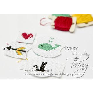 Joy!Crafts Snijstencil - Borduur vormen