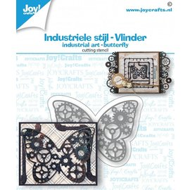 Joy!Crafts Snijstansmal - Industriel vlinder