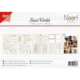 Joy!Crafts Labelvellen - Noor - Man's World