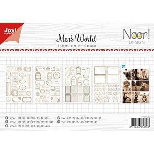 Joy!Crafts Labelvellen - Noor - Man's World