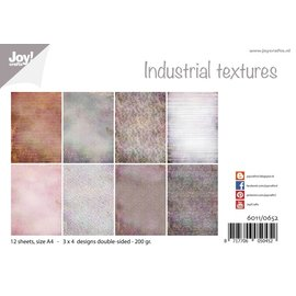Joy!Crafts Papierset - Design - Industrieel texturen