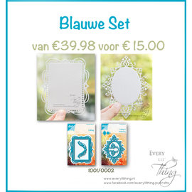 Joy!Crafts Blauwe Set