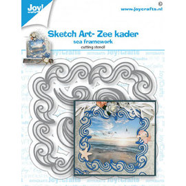 Joy!Crafts Stansmal - Sketch Art- Zee kader