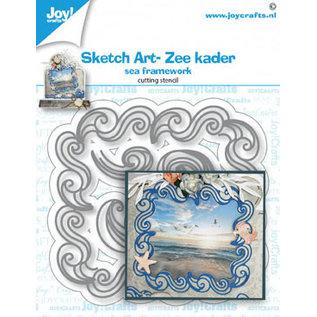 Joy!Crafts Stansmal - Sketch Art- Zee kader