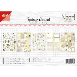 Joy!Crafts Labelvellen - Noor - Spring's Arrival