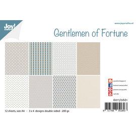 Joy!Crafts Papierset - Design - Gentlemen of Fortune