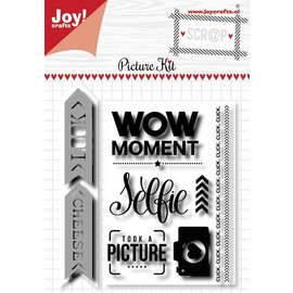 Joy!Crafts Scrap stansmal & Stempels - Noor - Picture kit