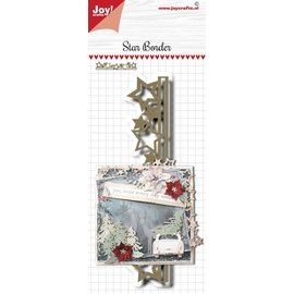 Joy!Crafts Stans-embosmal - Noor - Scrap - Sterrenrand