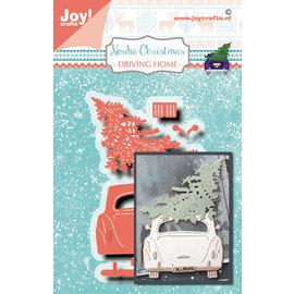 Joy!Crafts Stans-embosmal - Noor - NC- Auto/denneboom