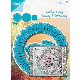Joy!Crafts Stans-embosmal - Noor - Doily voor lintje