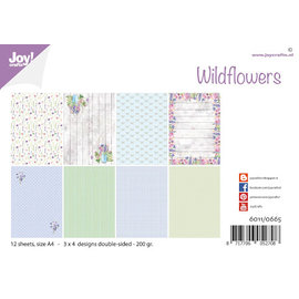 Joy!Crafts Papierset - Design - Wild flowers