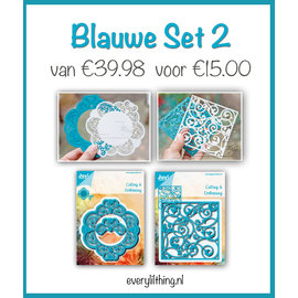 Joy!Crafts Blauwe Set 2
