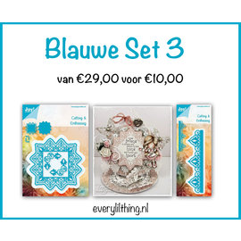 Joy!Crafts Blauwe Set 3