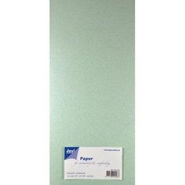 Joy!Crafts Papierset Metallic - licht groen