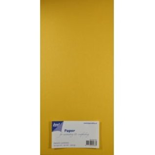 Joy!Crafts Papierset Metallic - geel