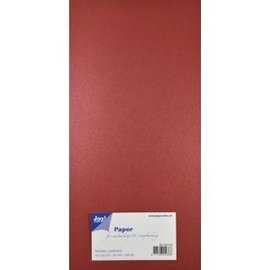 Joy!Crafts Papierset Metallic - rood