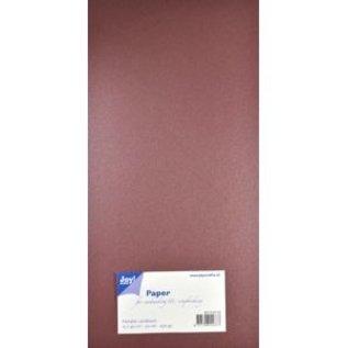 Joy!Crafts Papierset Metallic - donker rood