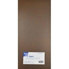 Joy!Crafts Papierset Metallic - donker bruin