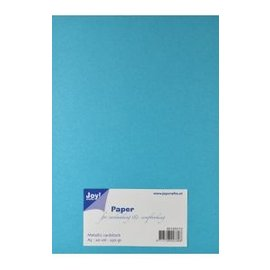 Joy!Crafts Papierset Metallic blauw