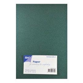 Joy!Crafts Papierset Metallic donker groen